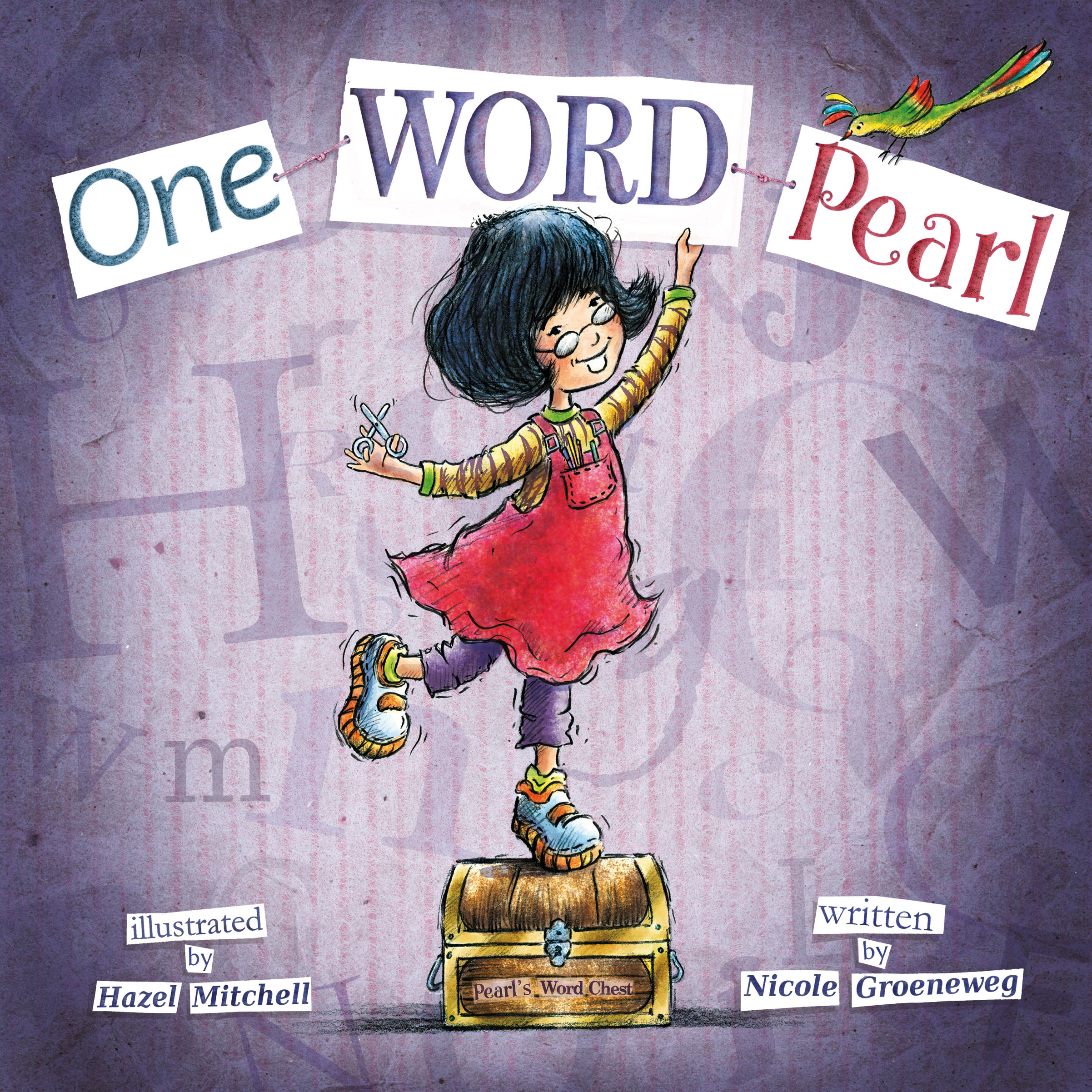 One Word Pearl Cover - Hazel Mitchell