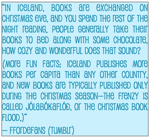 The Christmas Book Flood – An Iceland Tradition | Booking it with ...