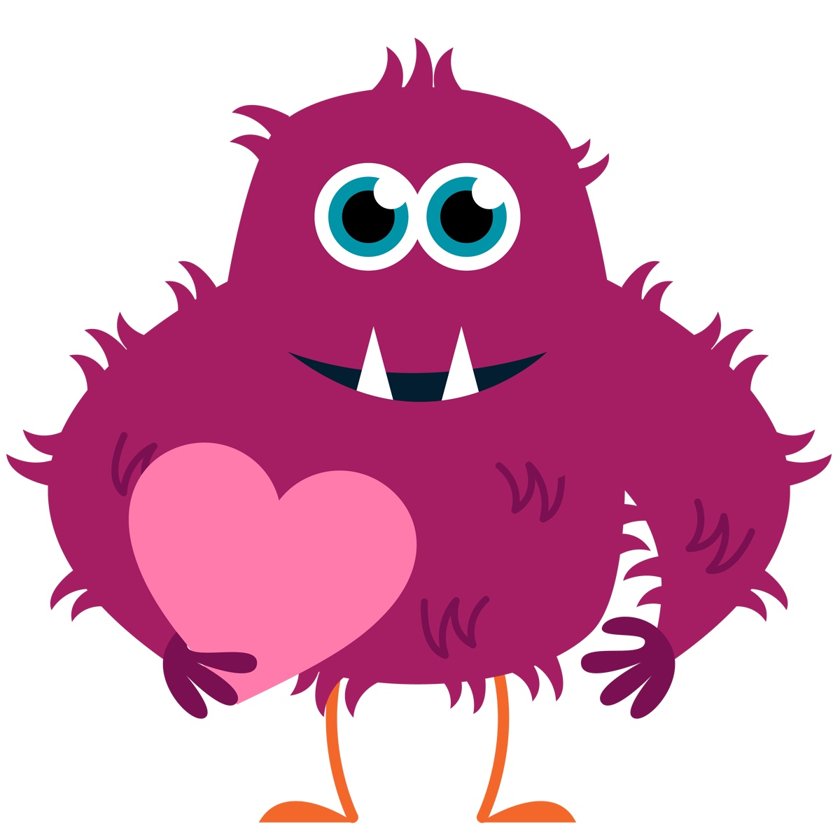 happy-monster-clipart-Meagan_11113ValentineCLIPART_6