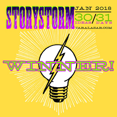Storystrom 2018 Winner! badge